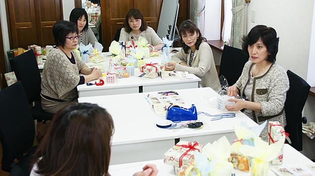 スイーツラッピング講習【ラッピング協会・資格】